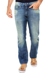Calça Jeans Calvin Klein Jeans Slim Tachas Azul