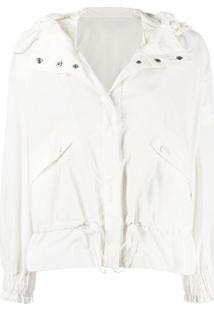 Moncler Albireo Hooded Jacket - Branco
