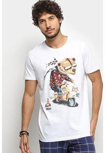 Camiseta Colcci Urso Wild Masculina - Masculino