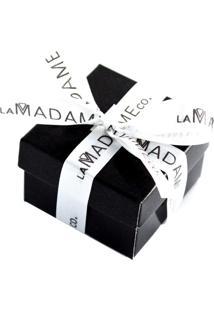 Anel Letra F Liso Regulável Banhado A Ouro 18K La Madame Co