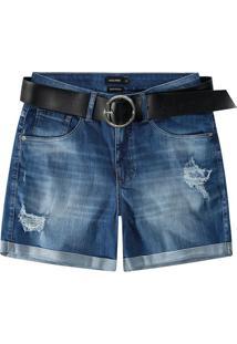 Bermuda Jeans Boyfriend Malwee