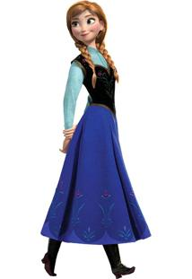 Adesivo Frozen De Parede Anna Colorido Roommates