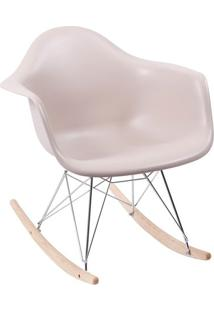 Poltrona Eames Dar- Fendi & Bege- 69X63X44Cm- Oror Design