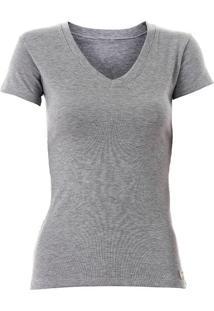 Camiseta Feminina Lzt - Cinza