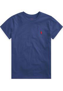 Camiseta Polo Ralph Lauren Logo Azul - Kanui