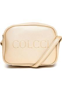 9248a2d96 R$ 179,99. Kanui Bolsa Feminina Transversal Colcci Dourada Logo