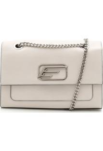 Bolsa Ellus Corrente Off-White