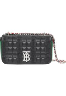 Burberry Mini Lola Crossbody Bag - Preto