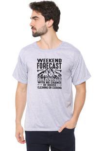 Camiseta Eco Canyon Weekend Forecast Cinza