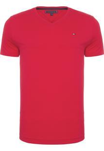 Camiseta Masculina Essential Cotton - Vermelho