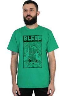 Camiseta Bleed American Cactus Bandeira