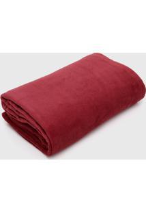 Cobertor Solteiro Atlã¢Ntica 1P㧠Sofisticata Vinho - Vinho - Dafiti