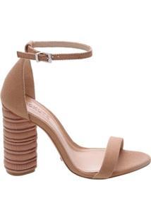 Sandália Oval Heel Strip Desert | Schutz
