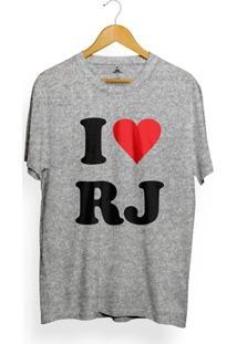 Camiseta Skill Head I Love Rj - Masculino