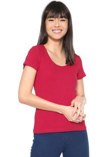Camiseta Malwee Canelada Pink