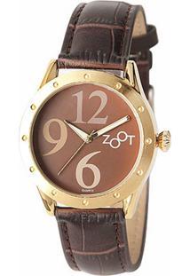 3d657b442bb Dafiti. Relógio Feminino Marrom Couro ...