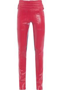 Calça Feminina Poulin - Vermelho