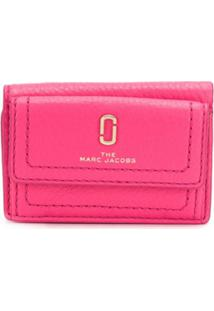 Marc Jacobs Carteira Snapshot Mini - Rosa