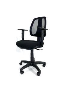 Cadeira Office Gerente Byartdesign Zurich Preto