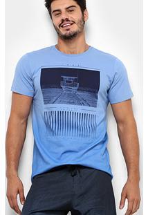 Camiseta Mood Califórnia Masculina - Masculino