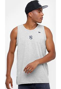 ... Camiseta Regata New York Yankees New Era Mini Logo Camu Masculina -  Unissex e9f6c836432