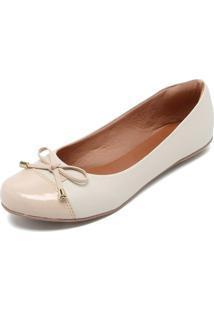 Sapatilha Dafiti Shoes Laço Off White