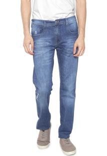 Calça Jeans Hang Loose Slim Baja Azul
