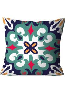 Capa De Almofada Avulsa Decorativa Mandala Multi Color 35X35