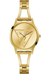 Relógio Guess Feminino Aço Dourado - W1145L3