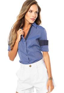 Camisa Mooncity Poás Azul