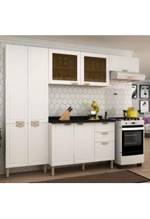 Cozinha Completa 5 Peã§As Americana Multimã³Veis 5680 Branco - Branco/Incolor - Dafiti