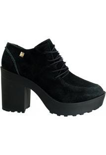 Ankle Boot Feminina Loucos E Santos Camurção L51067002 A01 - Feminino