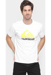 Camiseta Quiksilver Básica Small Logo - Masculino