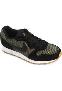 Tênis Nike Md Runner 2 Masculino - Masculino-Preto+Amarelo