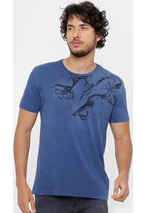Camiseta Calvin Klein Tinturada Roses Masculina - Masculino