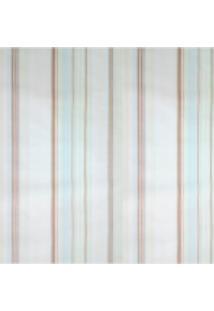 Kit 2 Rolos De Papel De Parede Fwb Azul Amarelo Branco E Marrom - Tricae