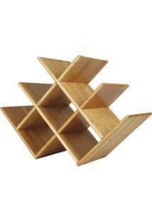 Rack Para Vinho Bamboo - Unissex