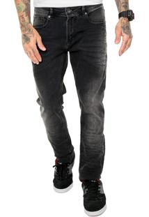 Calça Jeans Mcd Skinny Estonada Cinza
