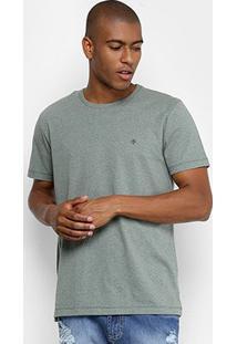 Camiseta Básica Manga Curta Forum Masculina - Masculino-Verde