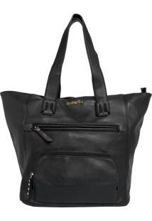 Bolsa Butterfly Tote Bag Preta