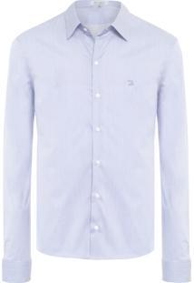 Camisa Masculina S17077 - Azul
