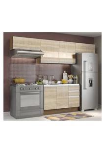 Cozinha Compacta Madesa Marina Rustic/Saara