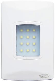 Luminária De Emergência Embutir Autônoma Segurimax Led 100 Lúmens