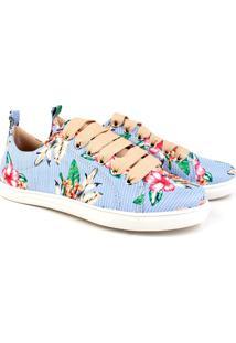 Tênis Trivalle Shoes Floral Gerânio