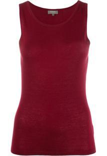 N.Peal Fine Knit Tank Top - Vermelho