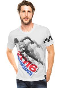 Camiseta Ellus Estampa Branca
