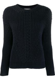 Chinti & Parker Suéter De Tricô Canelado - Azul