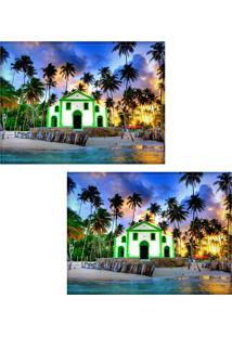 Jogo Americano Colours Creative Photo Decor - Praia Dos Carneiros - 2 Peças