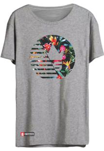 Camiseta Vinteseis Capitólio Cinza