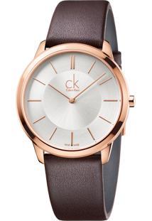 Relógio Calvin Klein K3M216G6 Rosê